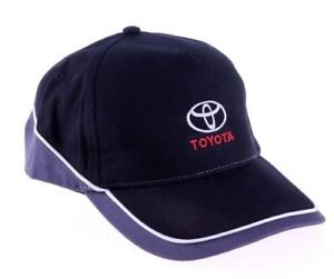 a8c5d99541af2 Genuine Toyota Mens Womens Casual Black Grey White Branded Baseball ...
