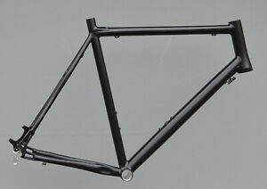 Cyclocross-Rahmen-CROZZROAD-DISC-RH-62-cm-in-schwarz-matt-Gravel-TPR