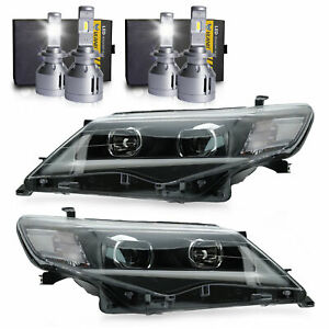 Custom-Projector-LED-Headlights-H7-LED-Bulbs-2-for-2012-2014-Toyota-Camry
