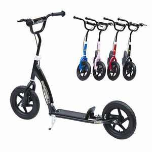 HOMCOM-4-Colours-Push-Scooter-Teen-Kids-Children-Stunt-Bike-Ride-On