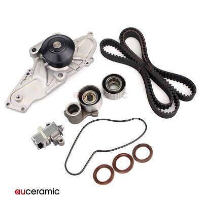 Timing Belt Tensioner Kit Water Pump for 98-02 Acura Honda ACCORD 3.0L on