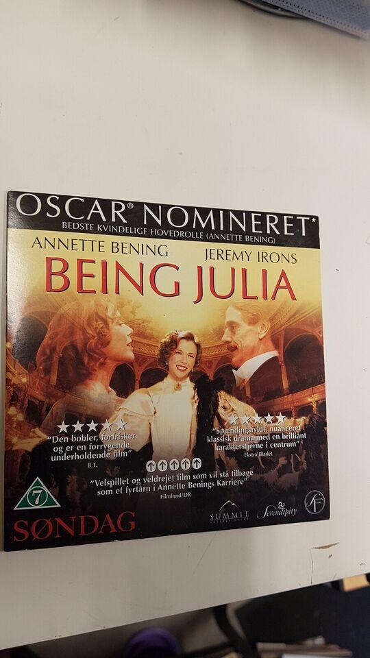 Being Julia, DVD, drama