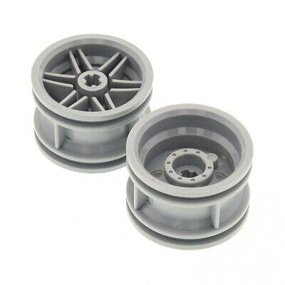 2x Lego Technic Wheel Ball Joint Fork Neu-Hell Grey Star Wars 4211711 6572