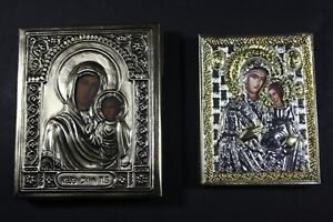 2-traveling-Icons-Mary-with-child-RUSSIA-20th-century