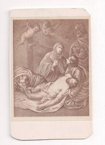 Vintage-CDV-Album-Filler-Religious-Painting-Virgin-Mary-Jesus