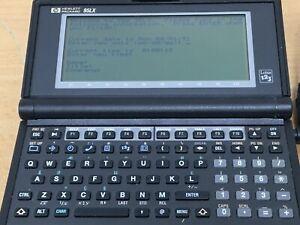 Hp-95Lx-Vintage-Palmtop-Computer-Works-but-hinge-floppy