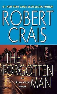"""1 of 1 - """"VERY GOOD"""" The Forgotten Man (Elvis Cole Novels), Crais, Robert, Book"""