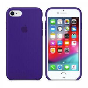Dettagli su Apple Cover iPhone 7 e 8 Viola Scuro