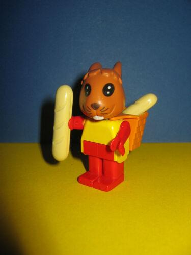 the baker/'s boy  80er Jahre Lego Fabuland Figur 3708 Robby Rabbit