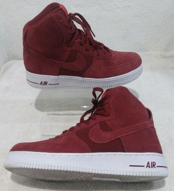 innovative design 3d7f4 8597d Nike Air Force 1 High University Red Team White Sz 10 315121-610