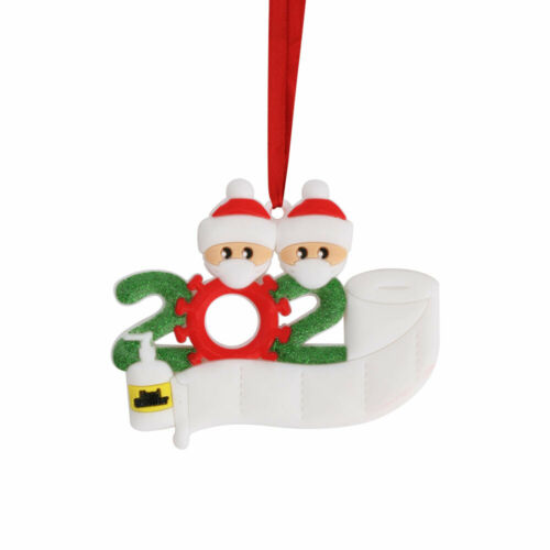 Xmas Christmas Tree Hanging Ornament Ornaments Family  Personalised Bauble Decor