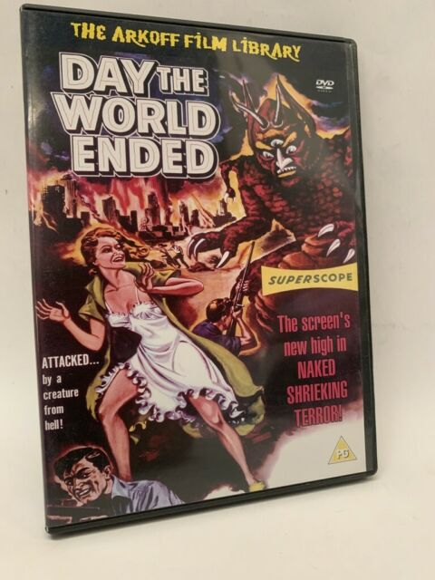 THE DAY THE WORLD ENDED rare UK DVD cult AIP monster horror movie