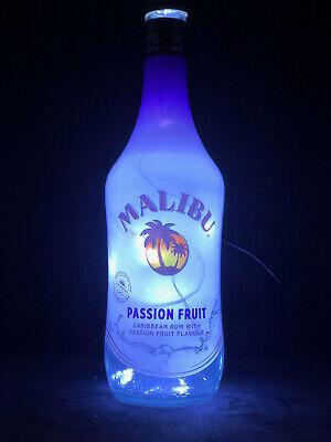 MYERS/'S RUM Liquor Bottle TABLE LAMP Light /& Wood Base Bar Lounge Man Cave Decor