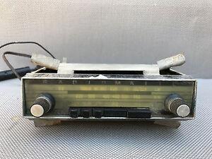 ancien autoradio vintage radiomatic r novation voiture ancienne antique radio ebay. Black Bedroom Furniture Sets. Home Design Ideas
