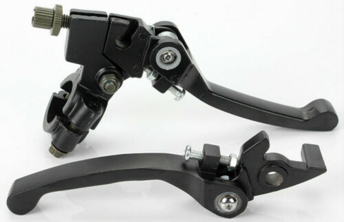 Black Foldable Clutch Brake Lever Handle for 110cc 125cc Pit Pro Dirt Bike