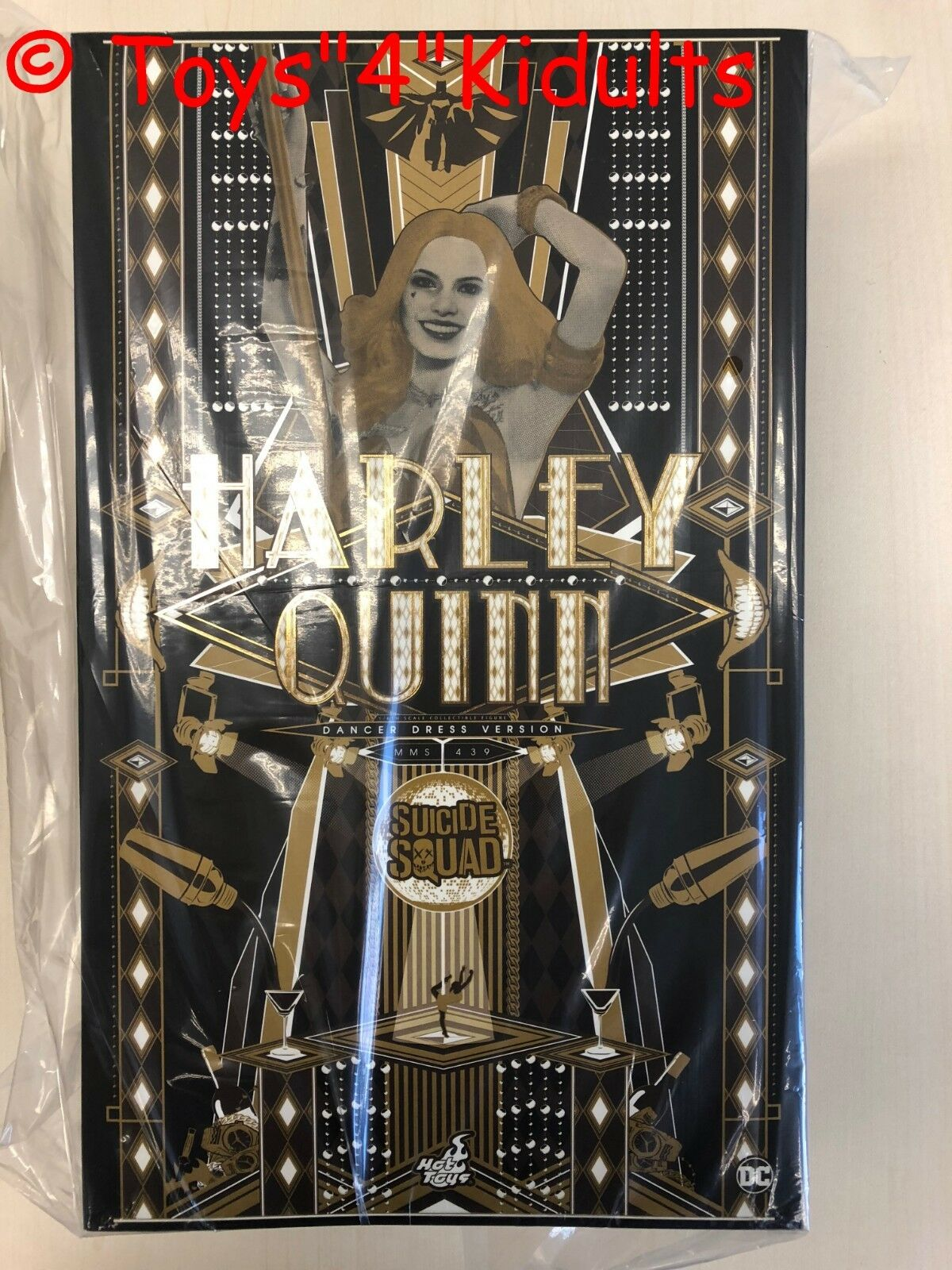 Hot Toys MMS 439 suicidio escuadrón Harley Quinn Vestido de bailarina Margot Robbie (versión)