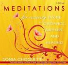 Meditations for Receiving Divine Guidance, Support and Healing by Sonia Choquette (CD-Audio, 2008)