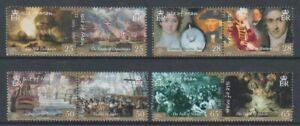 Isle-of-Man-2005-Battle-of-Trafalgar-set-MNH-SG-1199-1206
