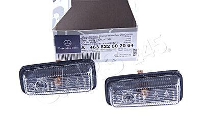 Mercedes Benz G-Class W463 Side Marker Lights 2PCS A4638220020 NEW GENUINE