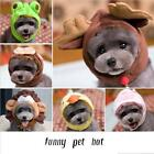 Pet Dog Costume Cap Lovely Hat For Puppy Teddy Cartoon Frog Animal Shapeshift