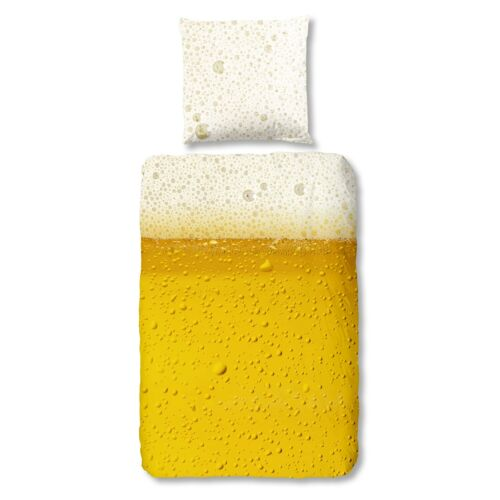 good morning Bettwäsche Set 5272 Beer yellow Bier Radler Getränk Spaß Fun