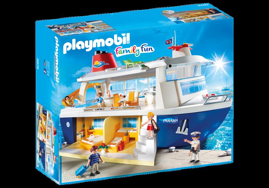 Playmobil 6978 Bateau de croisières avec figurines