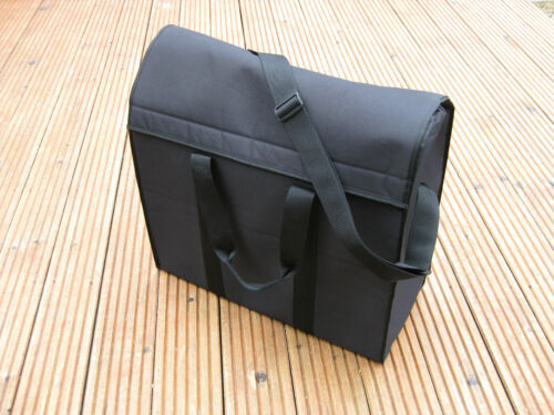 Black /'B/' NEXT DAY DEL NEW carry//storage bag suitable for BROMPTON FOLDING BIKE