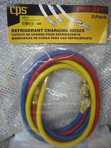 "Refrigeration Hose Long Vacuum-Charging Hose Premium 3//8/"" Part# HV6 6/' Long"