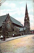 Glodwick near Oldham. St Mark's Church by F.&G. Pollard, Oldham. Card by OPF.
