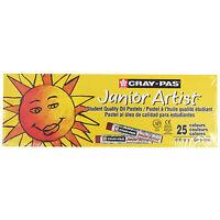Sakura Cray Pas Junior Artist - 25pc 25 Assorted Color Oil Pastel Set