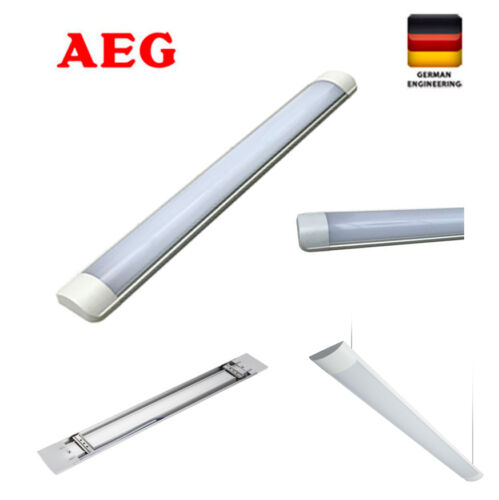GermanAEG 36W 18W Slimline Linear LED Fluro Fluorescent batten light 120 60 cm