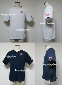 Uniqlo Men 2020 Australian Open Roger Federer Dry Ex V Neck Shirt New 426624 Ebay