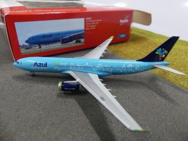 1 500 Herpa Blau Airbus A330-200 Blau Viagens rot, Weiß and Blau 530927  | Sehr gute Farbe