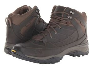 4944f83d2 Details about THE NORTH FACE MEN'S Sz 9.5 STORM MID WP LEATHER COFFEE BROWN  Winter Boots
