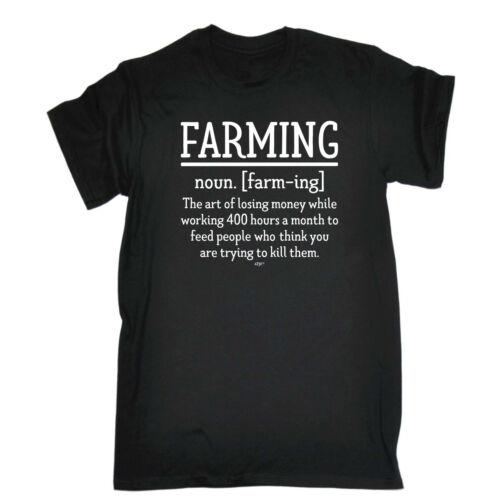 Funny Novelty T-Shirt Mens tee TShirt Farming Noun