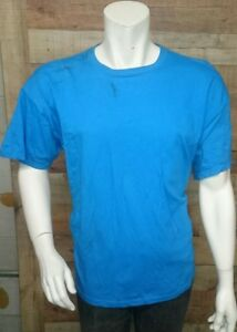 Fruit-Of-The-Loom-Blue-Men-039-s-Shirt-Size-XL