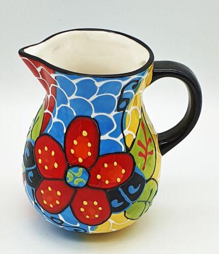 Wasserkrug Wasserkrüge Karaffe Kanne Milchkännchen mediterrane Keramik 0,45 l
