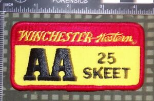 Winchester AA 25 /& 50 Straight 20 Gauge Skeet Shooting patches
