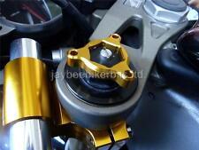 FORK PRE LOAD FORK ADJUSTERS 17MM GOLD KAWASAKI ZX12R ZX400 ZX9R ZX6R   R1C9