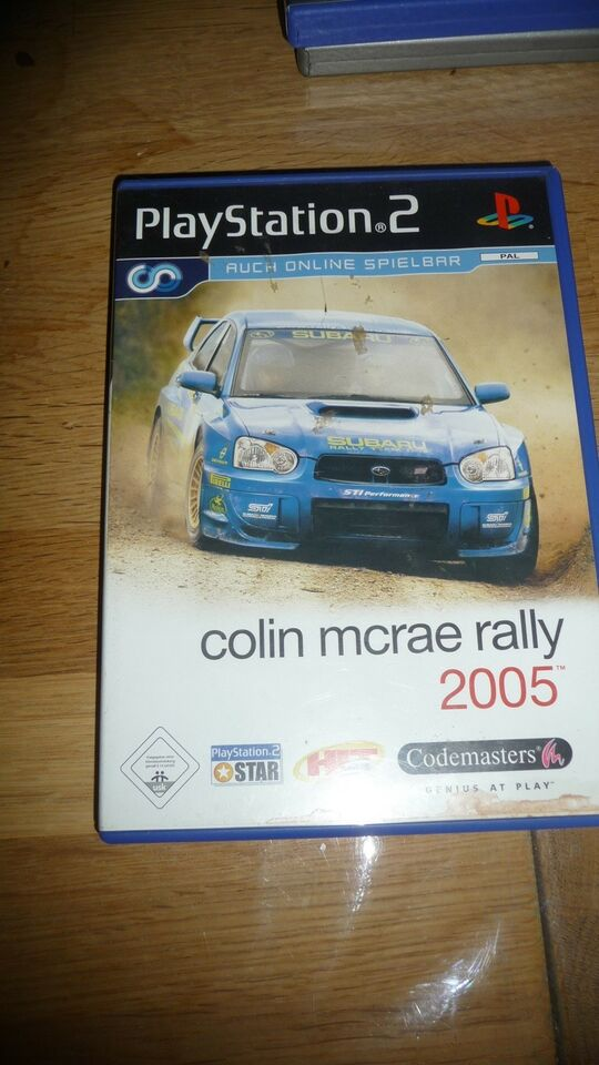 Colin McRay Rally 2005, PS2, racing