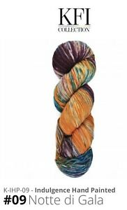 Color 15 Indulgence Sport Hand Painted Merino yarn By KFI collection
