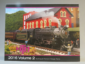 MTH 2016 VOLUME 2 TRAIN CATALOG toy o gauge train mth lionel standard dealer NEW