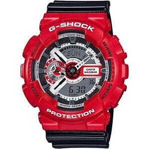 Casio-G-Shock-Mens-Wrist-Watch-GA110RD-4A-GA110RD-4ACR-Red-Analog-Digital