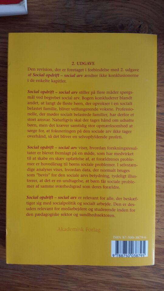 Social opdrift social arv, Morten Ejrnæs, Gorm Gabrielsen
