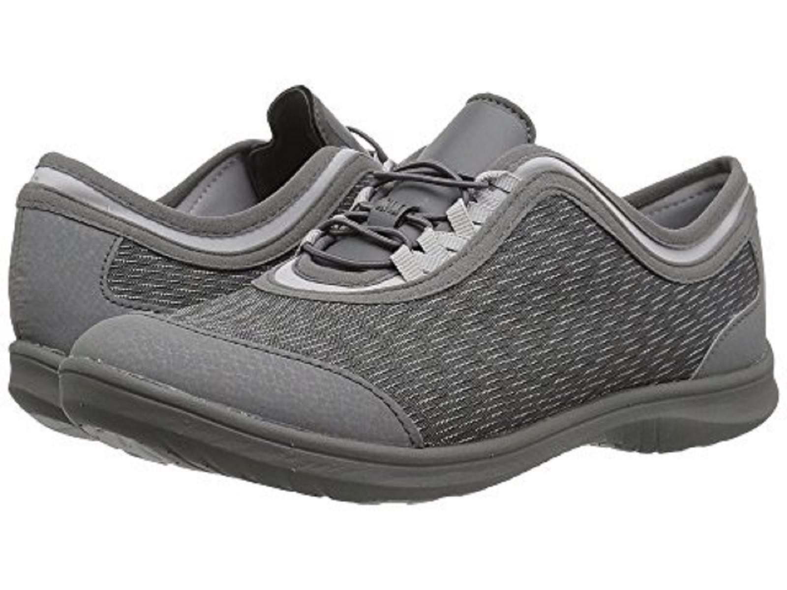 CLARKS CLOUDSTEPPERS Ladies 'DOWLING PEARL' Sneakers-DARK GREY  Sz. 9.5 M NIB