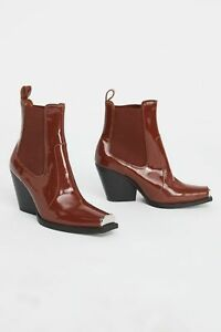 NEW-Free-People-Jeffrey-Campbell-Surrey-Chelsea-Boot-size-6-MSRP-198-Leather