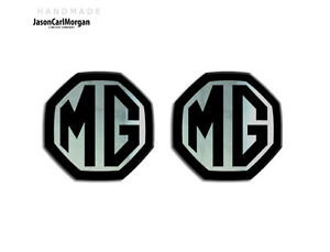 MG-ZS-LE500-MK1-Car-Compatible-Front-Rear-Insert-Badge-59mm-Black-Chrome