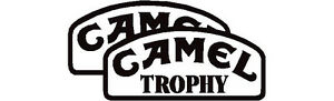 Camel Trophy stickers, pair 450mm wide in any colour, land rover, 4x4 off road