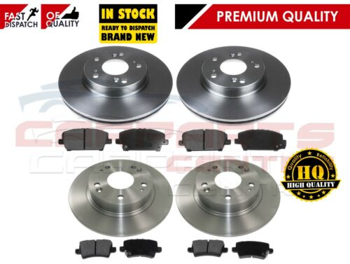 FOR HONDA CIVIC 1.8 i-VTEC 2.2 i-CTDi SPORT FRONT REAR BRAKE DISCS and PADS
