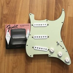 Fender-65-American-Pure-Vintage-Strat-Prewired-Pickup-Set-Loaded-Pickguard-PIO